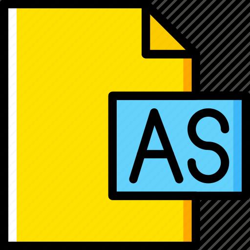 as, code, coding, development, file, programming icon