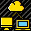 cloud, code, coding, development, programming, transfer icon