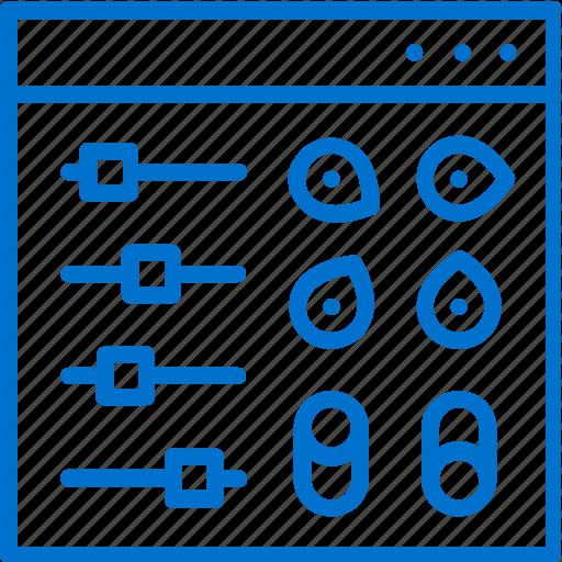 Adjustment, admin, administrator, configurations, internet, panel, preferences icon - Download on Iconfinder