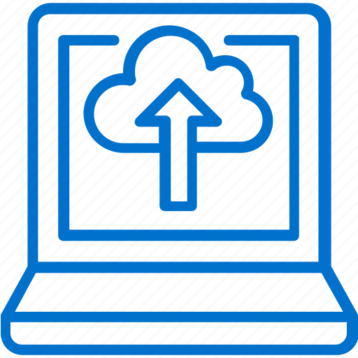 cloud, computer, computing, data, information, technology, upload icon