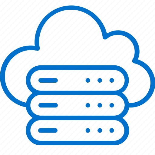 cloud, connection, data, network, server, storage, technology icon