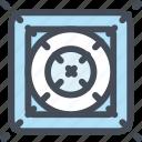 center, circle, design, grid, guidlines, illustration, scheme icon