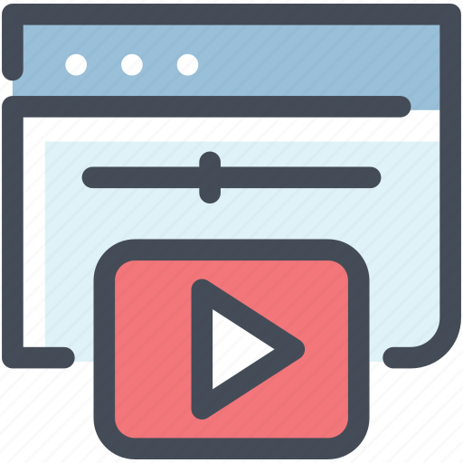 Browser, media, movie, multimedia, play, video, youtube icon - Download on Iconfinder