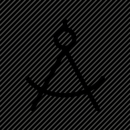 Development, work, compass icon - Download on Iconfinder