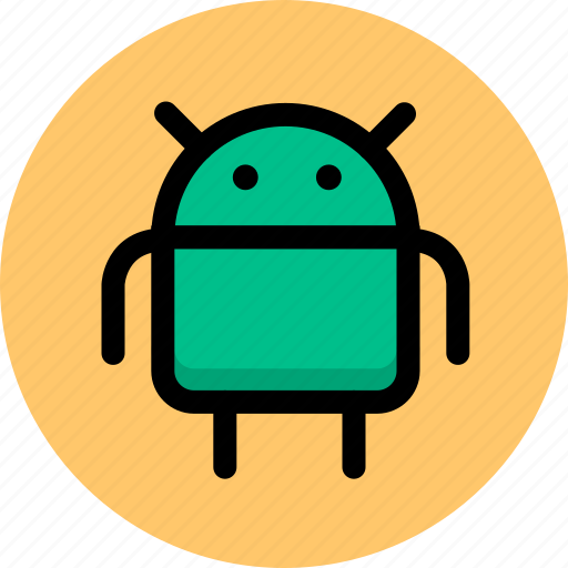 android, robot, system icon