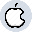 apple, system icon
