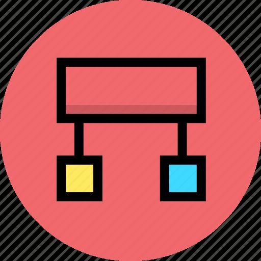 code, development, programming, structure icon