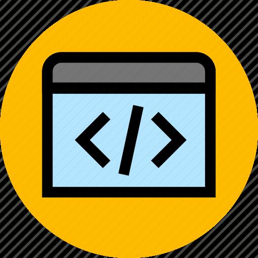 application, development, programming icon