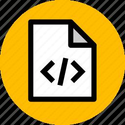 code, development, programming, script, script code, website icon