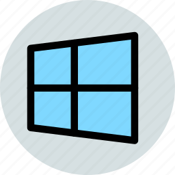 logo, system, windows icon