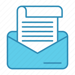 communication, correspondence, development, letter, message icon