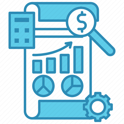 development, diagram, financial, graph, paper, report, startup icon