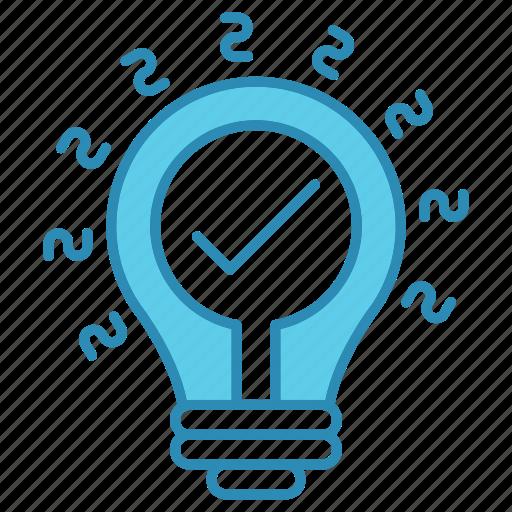 development, idea, innovation, lamp, seo, startup icon