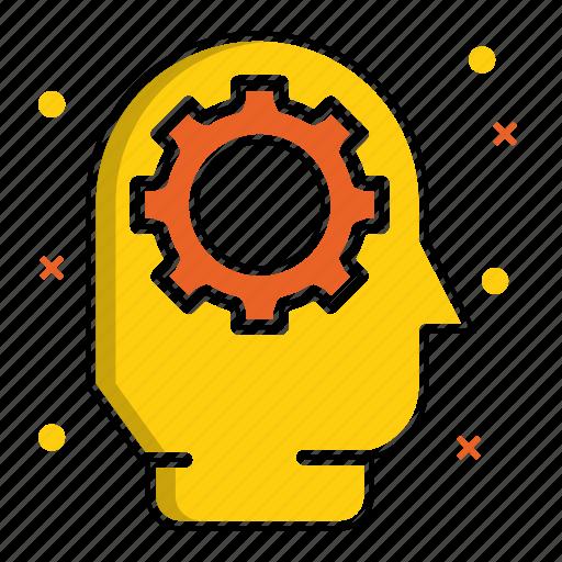 brainstorm, organization, solution, strategy, team, teamwork, work icon
