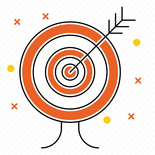 arrow, development, goal, marketing, seo, startup, target icon