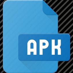 apk, development, extension, file, programing, type icon