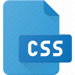 css, development, extension, file, programing, type icon