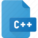 c, development, extension, file, programing, type icon