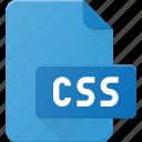 css, development, extension, file, programing, type