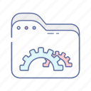 development, document, file, folder, web icon