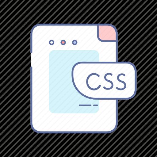 css, development, file, programming, web icon