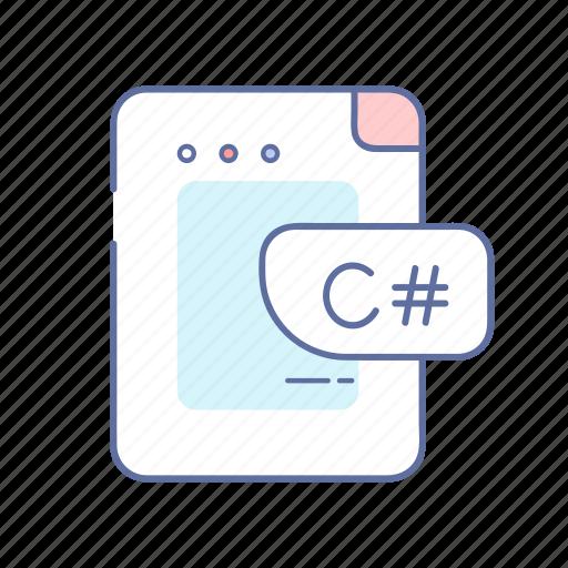 .net, code, coding, csharp, programming icon