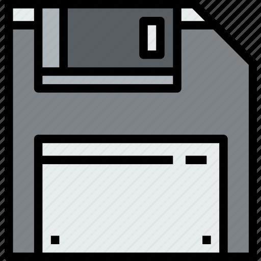 device, guardar, hardware, save, technology icon