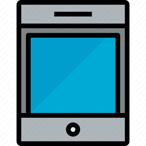 device, hardware, tablet, technology icon