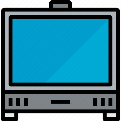 device, hardware, technology, television icon