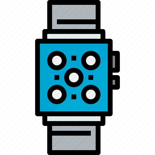 device, hardware, smart, technology, watch icon