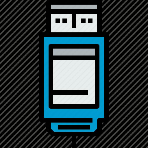 device, hardware, technology, usb icon