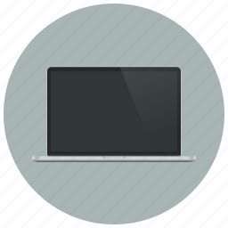 computer, device, macbook, monitor, network, screen, technology icon