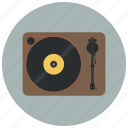 audio, device, music, play, player vinyl, sound, vinyl icon