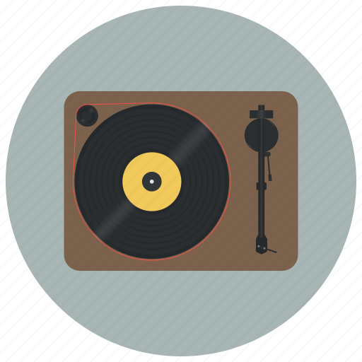 audio, device, music, play, player vinyl, sound, vinyl icon