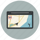 device, gps, locate, location, map, navigation, navigator icon