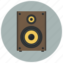 audio, music, musical column, play, sound, speaker, volume icon