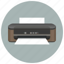 device, document, equipment, print, printer, printout, scanner icon