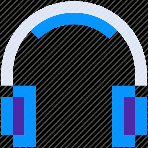 audio, device, headphone, hear, listen, music, play icon