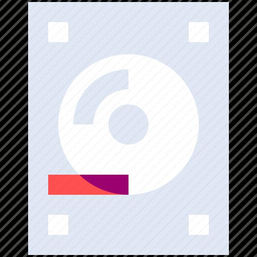 device, disc, drive, hard, memory icon