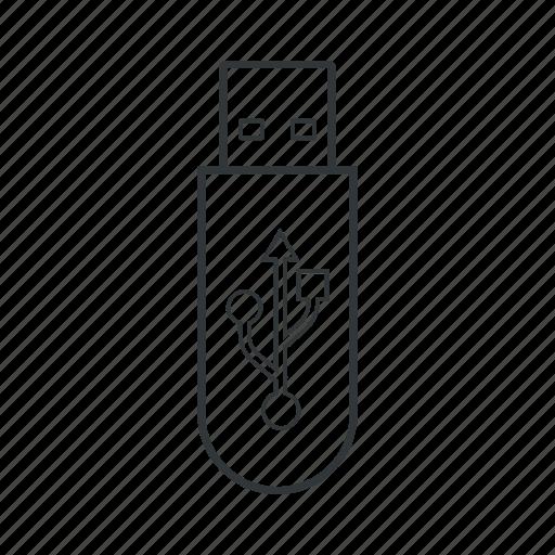device, flash, memory, storage, technology, usb, usb stick icon