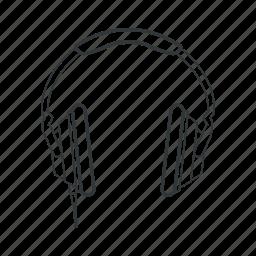 audio, headphone, headphones, music, play, sound, volume icon