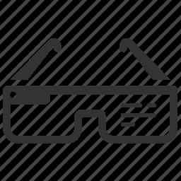 device, gadget, glass, glasses, google glass, smartwear, technology icon