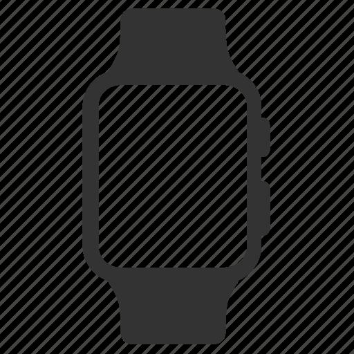apple, apple watch, device, gadget, smartwatch, smartwear, watch icon