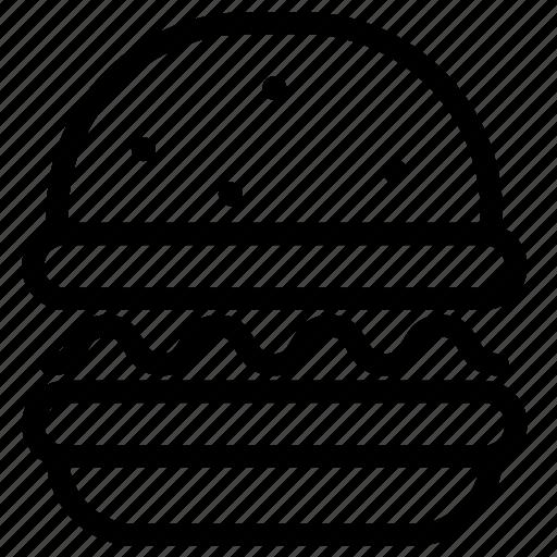 burger, burner, cheeseburger, junk, meal, restaurant icon