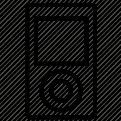audio, control, ipod, microphone, mp3, nano, walkman icon