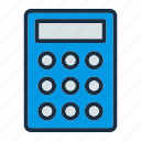 accounting, calculation, device, electronic, finance, math, technology icon