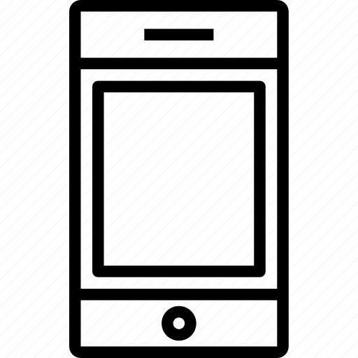 device, smartphone, technology icon