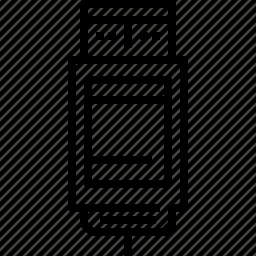 device, technology, usb icon