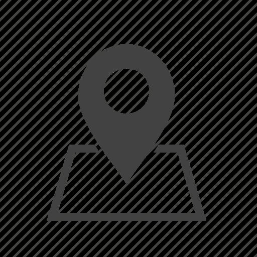 address, find, gps, locator, map, navigator, pointer icon