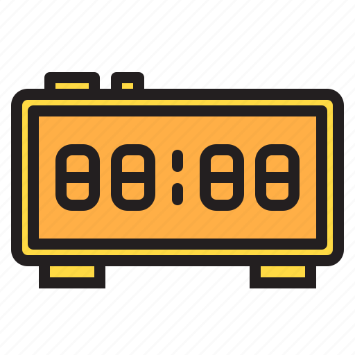 alarm, appliance, clock, device, electronic, household icon